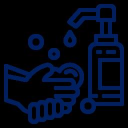 Higienize as mãos com álcool gel quando necessário.